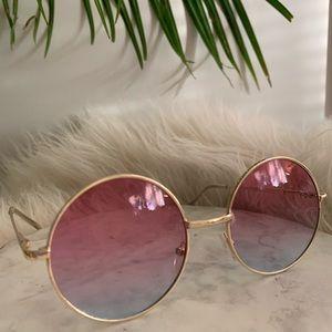 Vintage gold/pink/lavender colored glasses